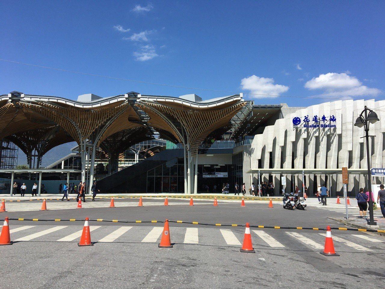 花蓮車站今天啟用。記者徐庭揚/攝影