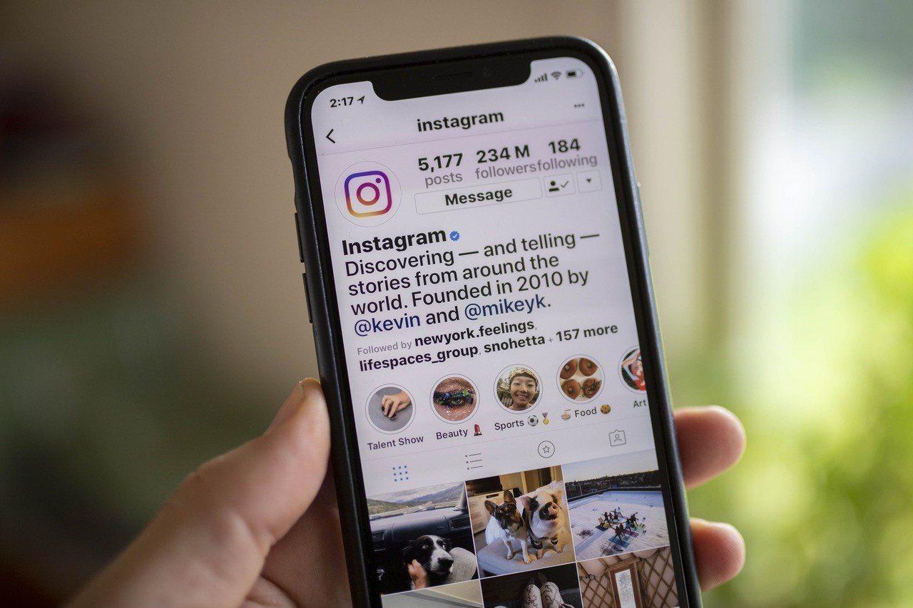 社群軟體Instagram。歐新社