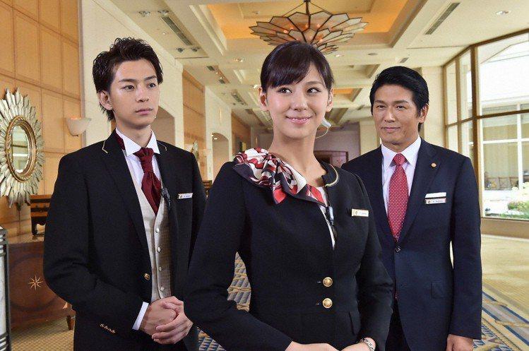 西內麻里亞主演的《歡迎光臨本飯店》反應不佳。圖/緯來日本台提供
