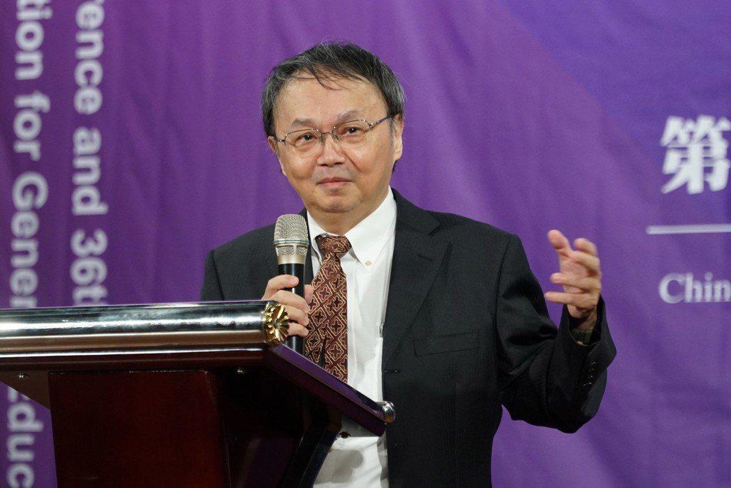 中華民國通識教育學會理事長莊榮輝肯定大葉大學推動通識教育的努力 大葉大學/提供。