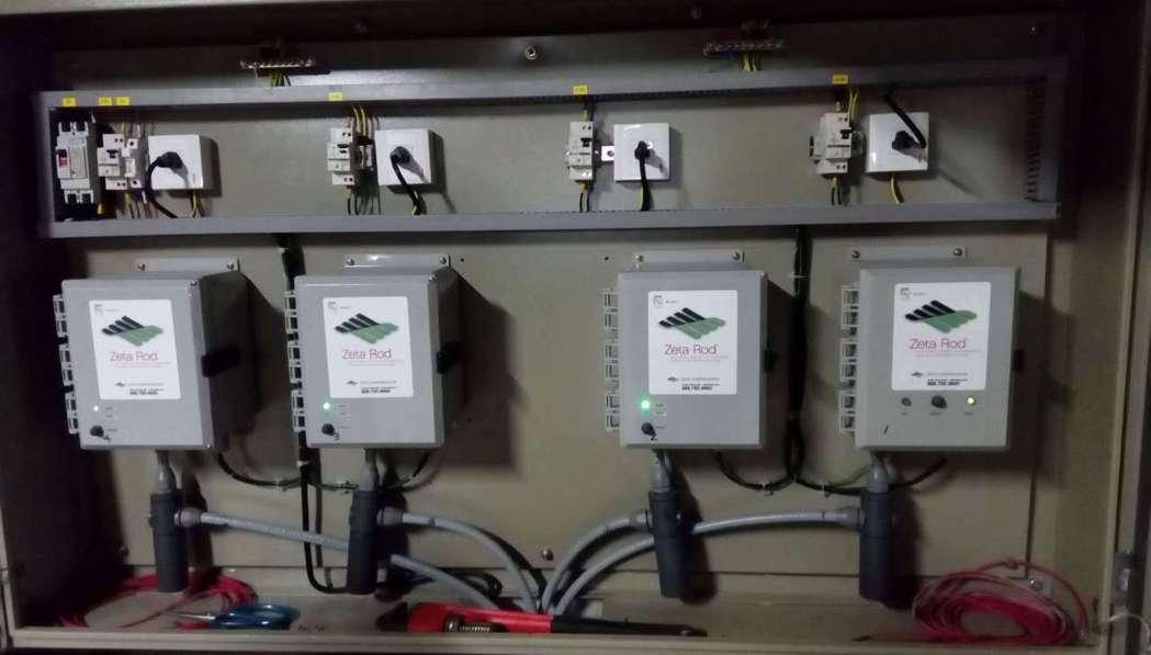 Zeta Rod用在冰水主機的水側,可維持冰水主機高COP省下巨額電費。 興亞太...