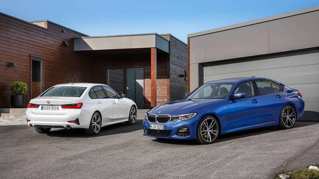 全新G20世代BMW 3-Series造型與內裝都大幅度改變。 摘自BMW