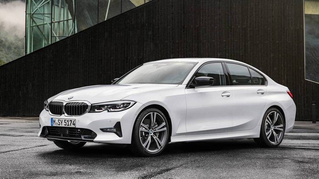 標準版本G20 BMW 3-Series。 摘自BMW