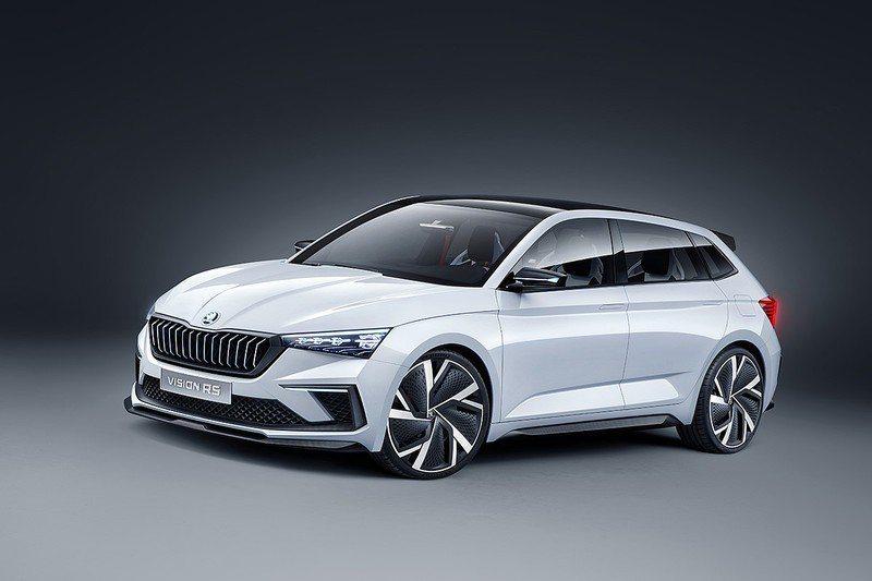 Vision RS有著大量賽車和運動風格的元素。 摘自Škoda