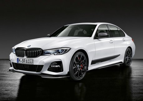 2018巴黎車展/BMW 3-Series才剛發表完 M Performance套件馬上讓你當帥哥