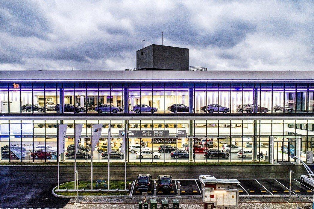 「BMW台北尚德新莊5S全功能旗艦展示暨服務中心」盛大開幕。 圖/汎德提供