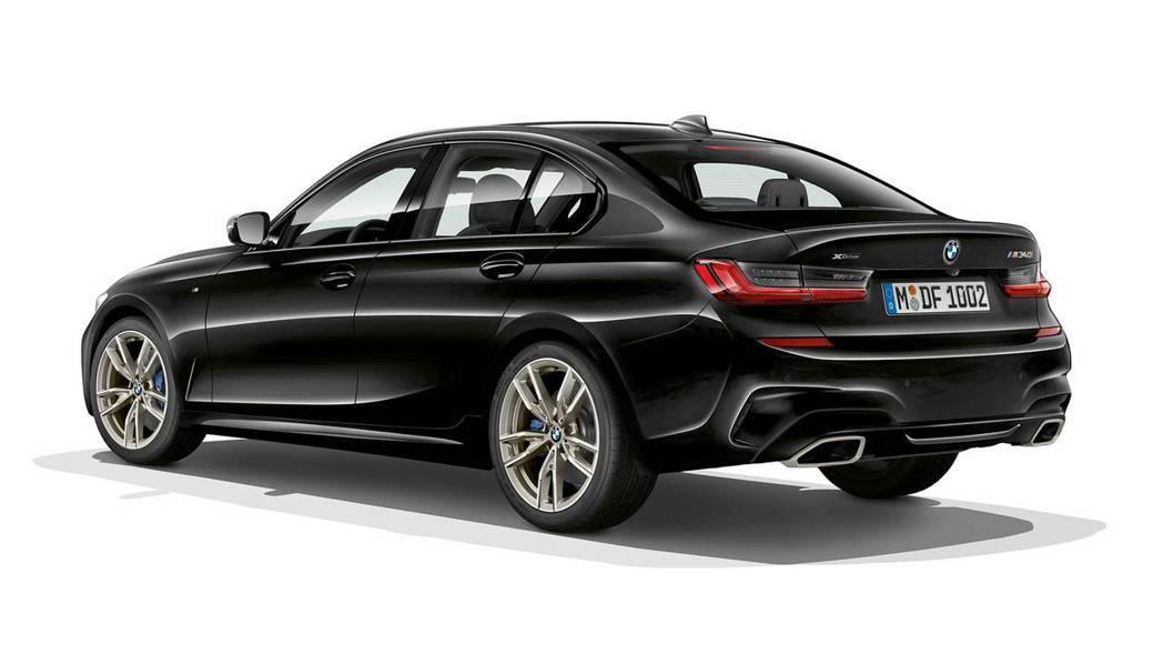 M340i /M340i xDrive則是預計2019年第二季時才會發售。 摘自BMW