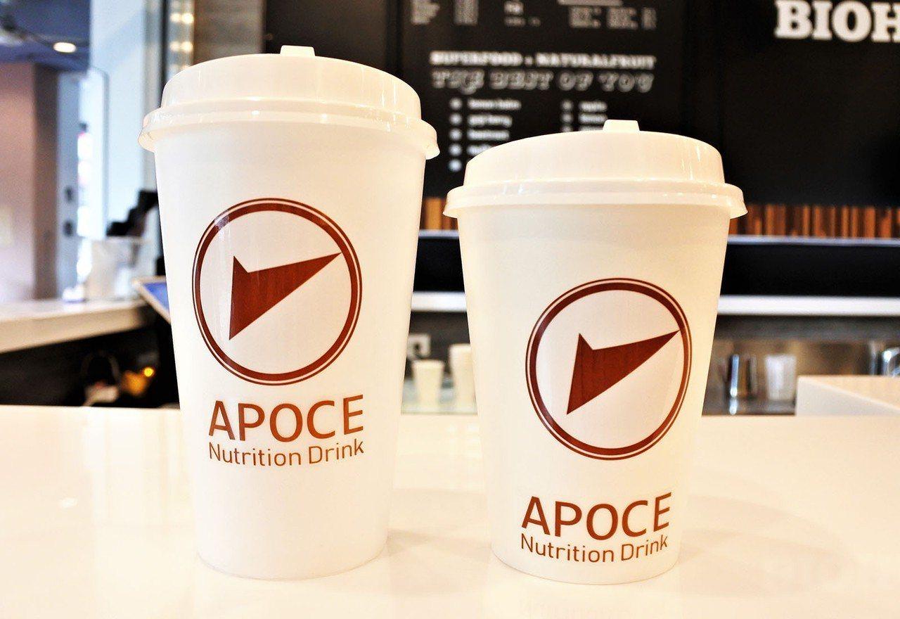 (圖/台灣旅行趣) ▲除了防彈咖啡為熱飲,採用的是右邊杯裝。其餘的皆為左邊杯裝。