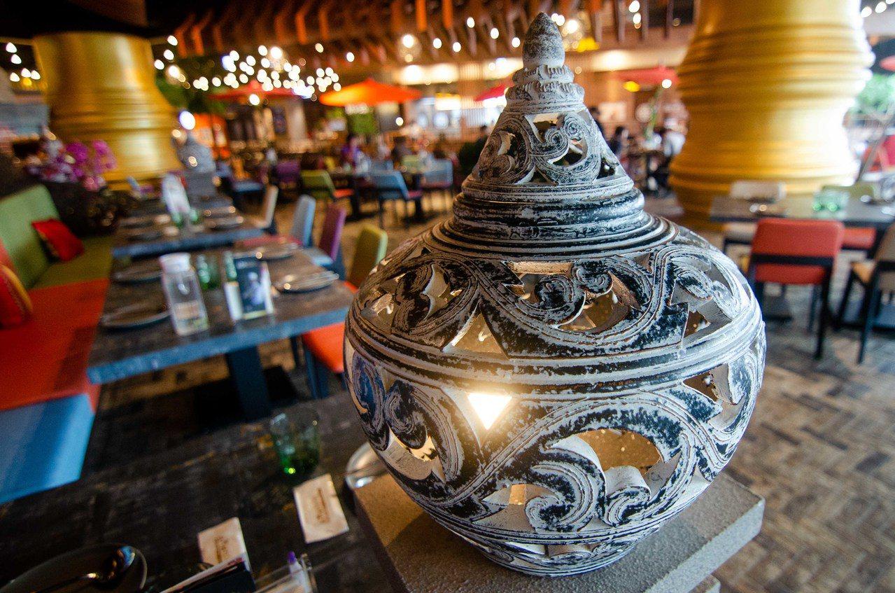 (圖/台灣旅行趣) ▲店內裝飾非常有味道,彷彿到了泰國當地。