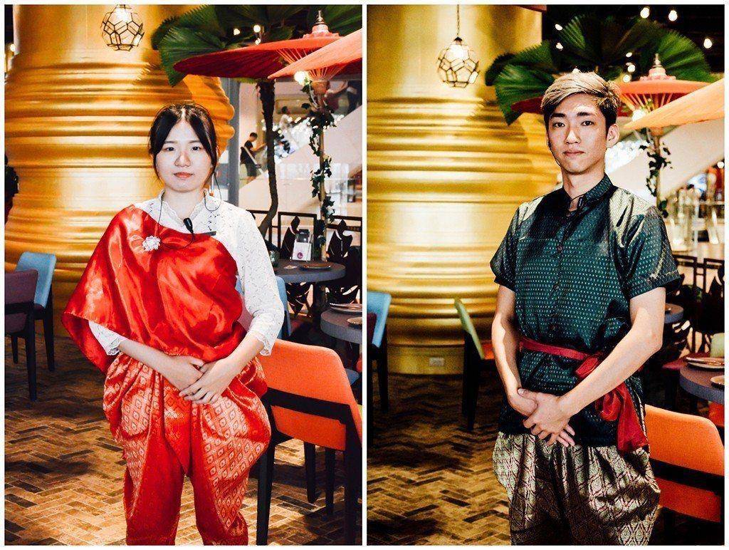 (圖/台灣旅行趣) ▲連店員也穿著加入傳統元素改良的制服,看得出細節也很用心。