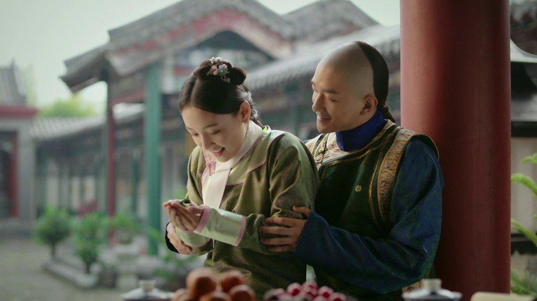 「如懿傳」中也有五阿哥與「小燕子」。圖/截圖自愛奇藝台灣站