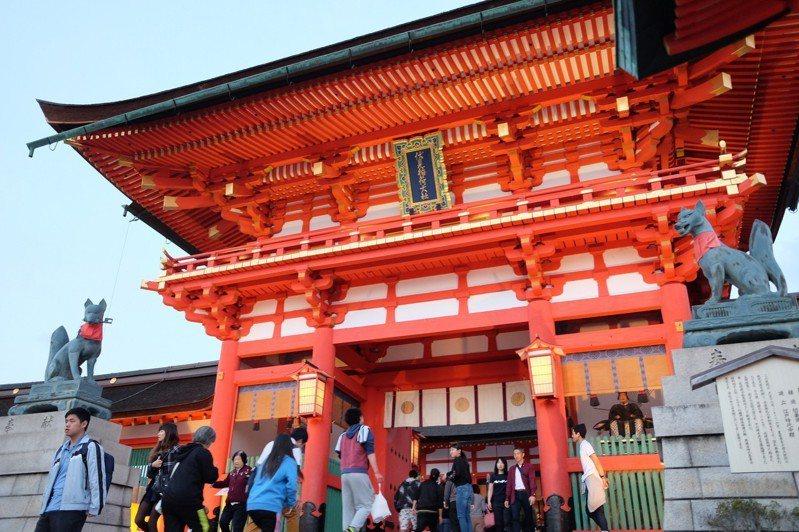天災重創日本,向來是觀光重鎮的京阪地區,為吸引遊客動作頻頻。記者黃仕揚/攝影