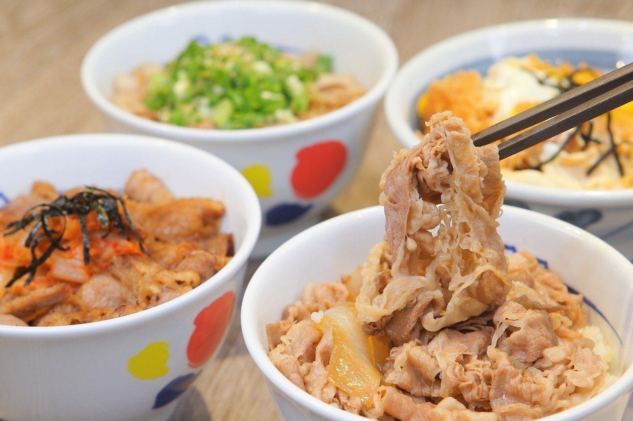 以牛肉飯聞名的松屋,自9月28日正式在台開幕。記者陳睿中/攝影