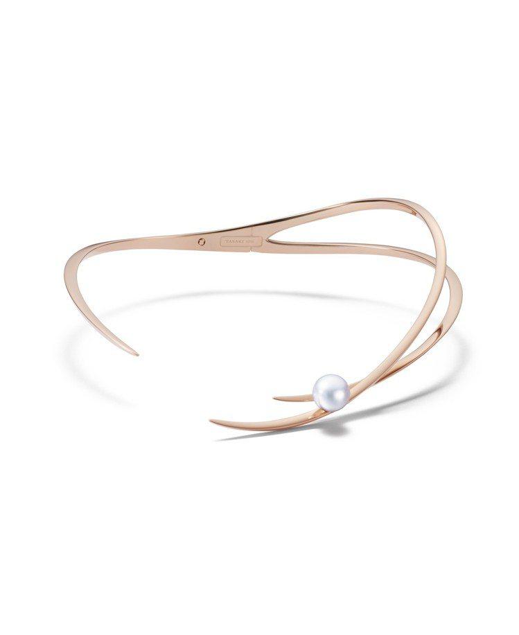 TASAKI Atelier 系列航標Buoy 南洋珍珠櫻花金項鍊,144萬元。...