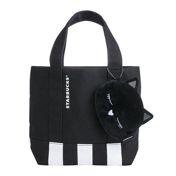 黑貓萬用提袋組,售價600元。圖/星巴克提供