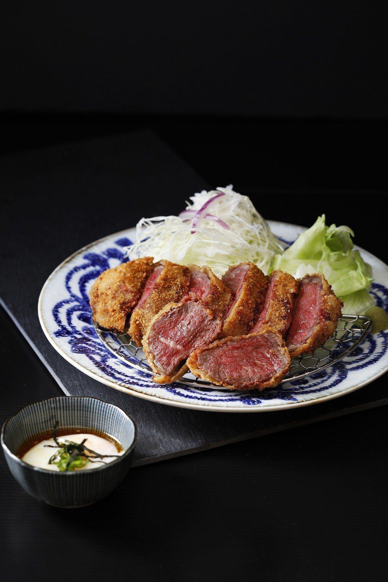 台灣限定的極上和牛,售價520元。圖/王座國際餐飲提供