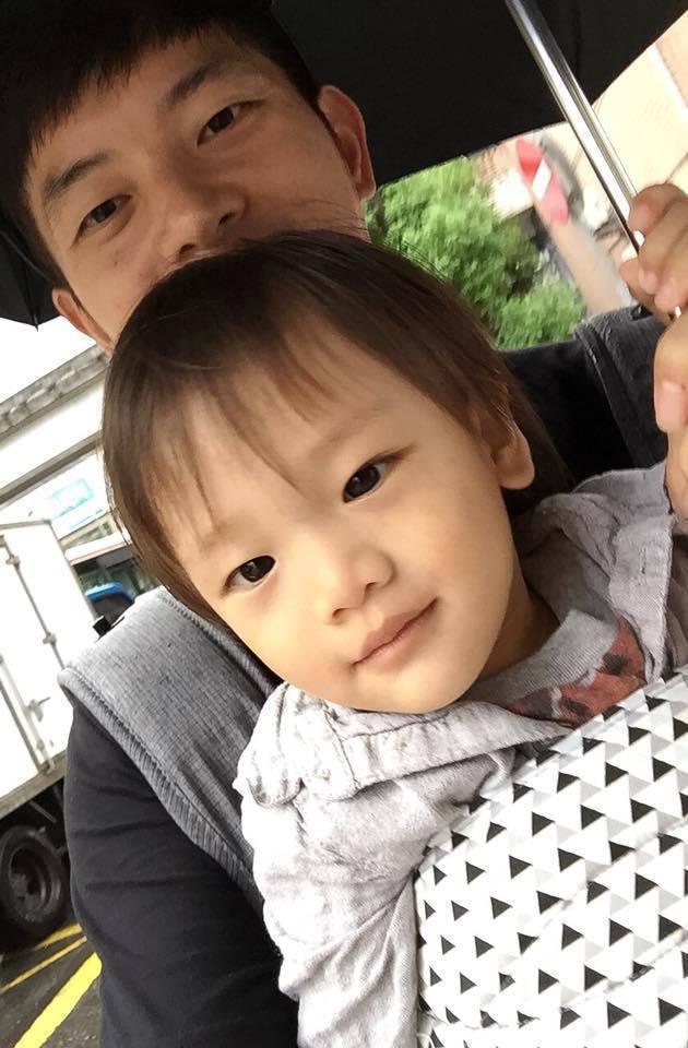 宥勝將兒子取新小名「吉寶」。圖/摘自臉書