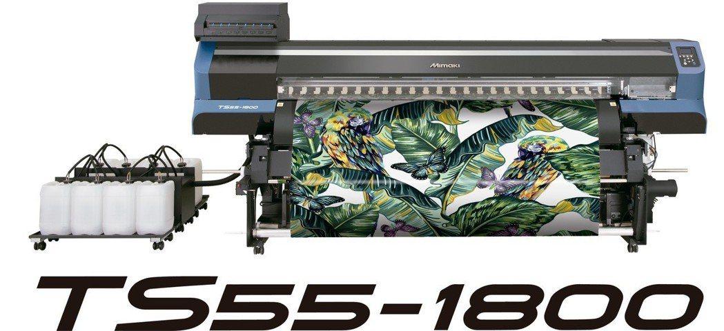 TS55將於紡織展現場展示。台灣御牧/提供