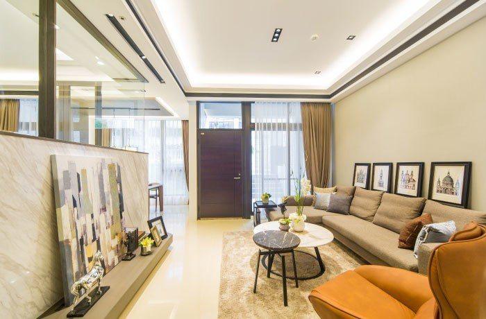 超值房價享寬闊空間,換屋首選。 圖/伴山別墅 提供