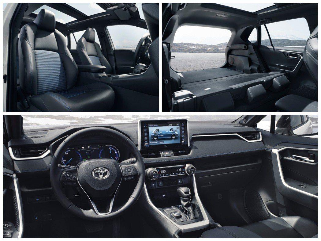 新世代歐規Toyota RAV4內裝。 摘自Toyota
