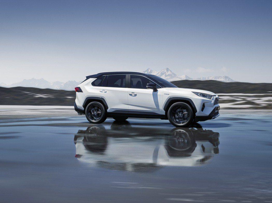新世代歐規Toyota RAV4預計將在明年第一季正式上市。 摘自Toyota