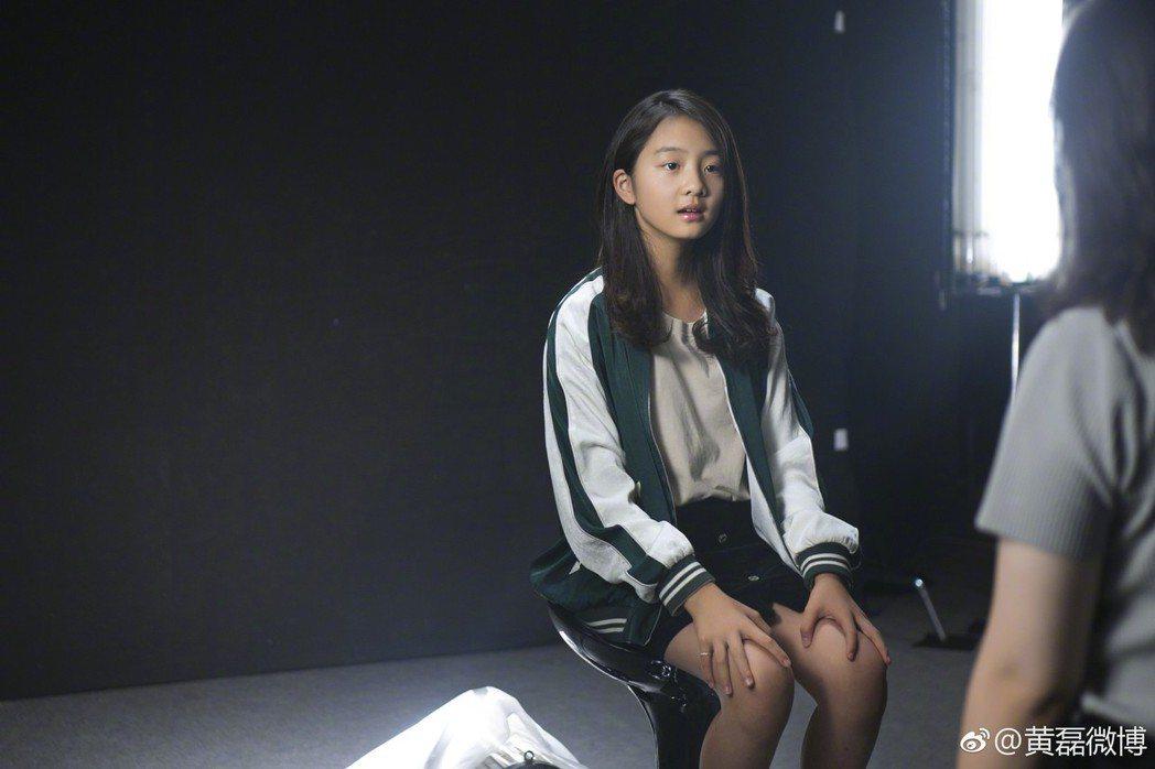 黃磊女兒多多已接演舞台劇。圖/擷自微博