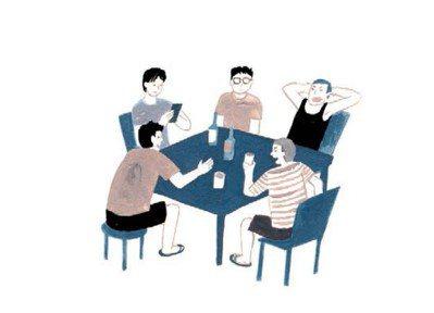 騎完山路那天晚上住在金崙的溫泉旅館中,跟一群和我們反方向環島的車友邊喝啤酒,邊閒...