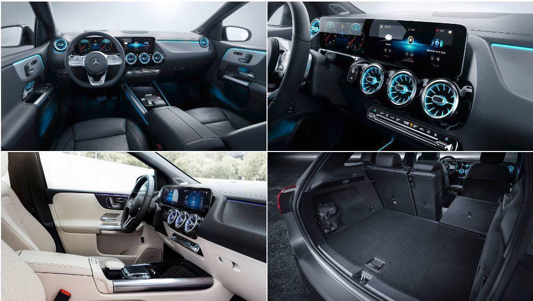 全新B-Class不僅內裝有質感,車室空間更是能自由發揮。 摘自Mercedes