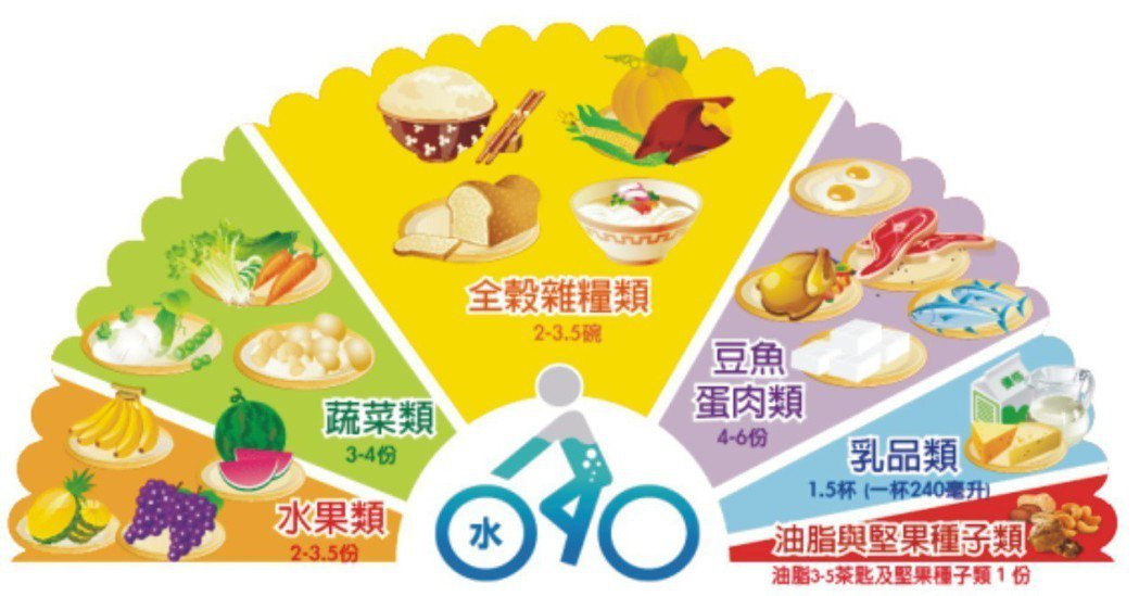 65 歲以上銀髮族每日飲食建議 圖片提供/亞東醫院