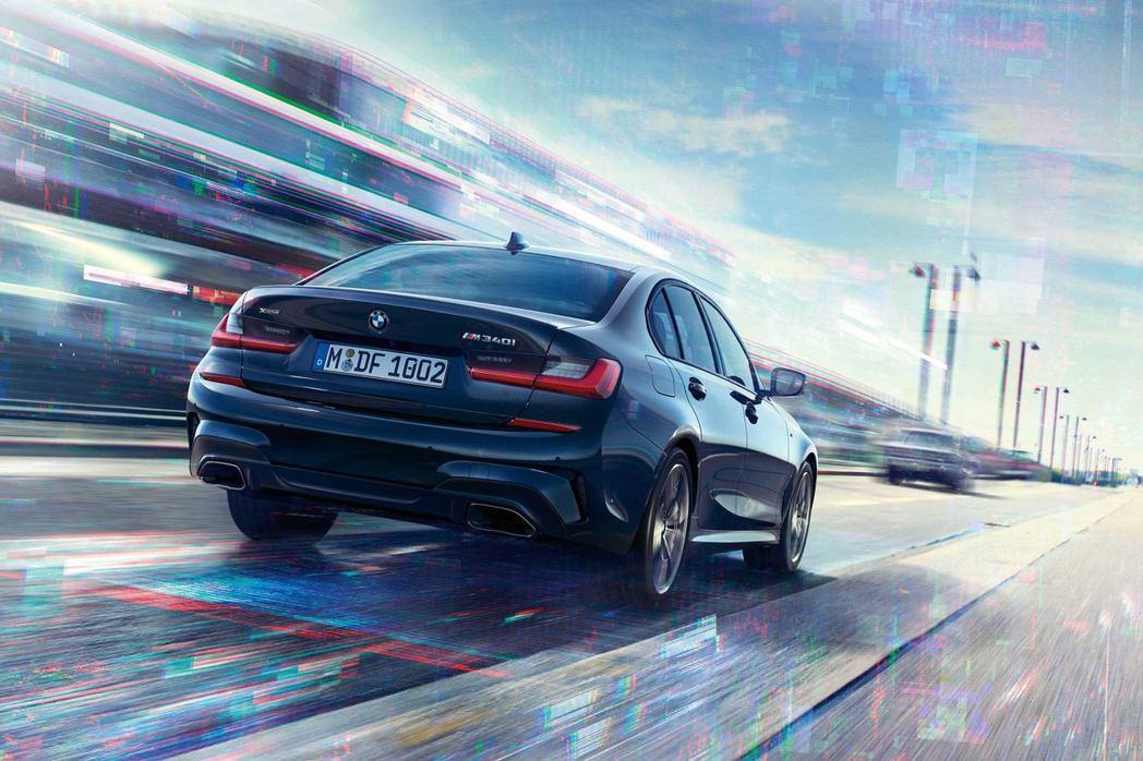 新世代BMW 3-Series(G20)。 摘自BMW M