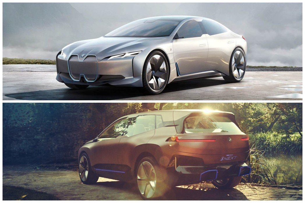 BMW i Vision Dynamics Concept與BMW iNEXT ...