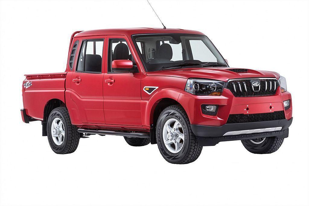 來自印度的Mahindra汽車,旗下Pick up入門車型不用80萬台幣就能買到...