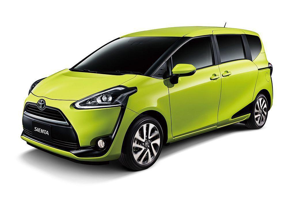 受到許多計程車司機青睞的Toyota Sienta,無論載人、載貨都相當實用。 圖/Toyota提供