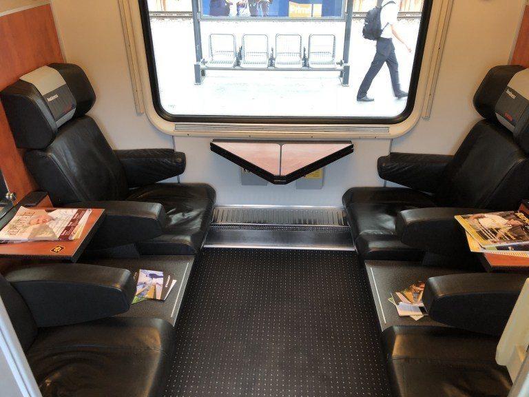 火車內部非常舒適,又很划算 圖文來自於:TripPlus