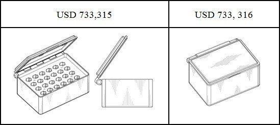 圖2:Theranos公司的運輸容器設計專利之母案
