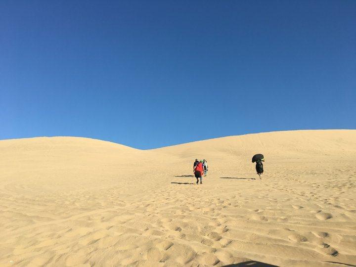 白晝的沙漠(1)。 圖/背包客棧