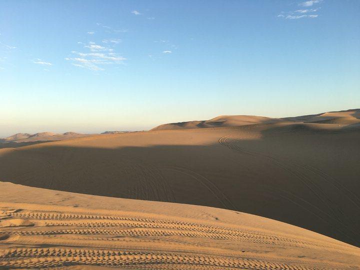 白晝的沙漠(2)。 圖/背包客棧