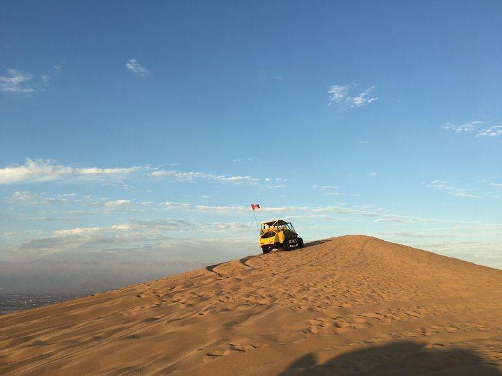 白晝的沙漠(3)。 圖/背包客棧