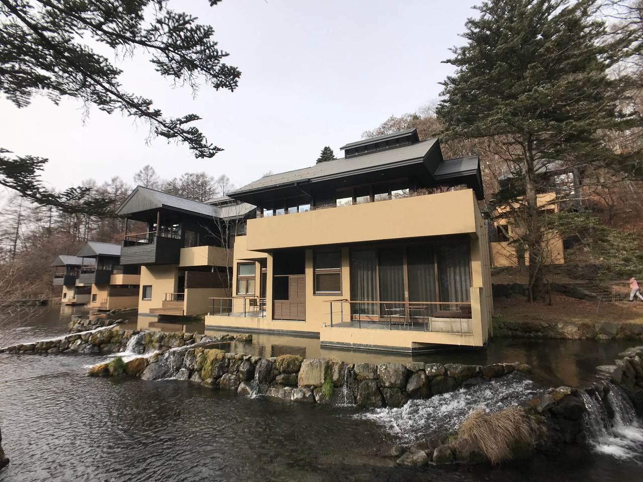 輕井澤是東京人的後花園,也是冬日泡湯熱門景點。