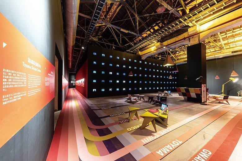 國際館—10 個設計城市匯聚於此,展現如彩虹般的繽紛樣貌。 【圖・文化資源科】