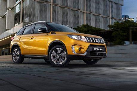 2019年式Suzuki Vitara入門車款 售價不到2萬歐元!