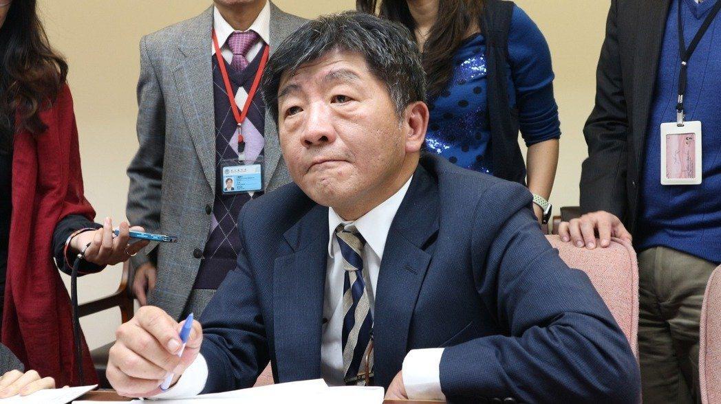 衛福部長陳時中承諾推動無障礙友善診所,一個月內將提出初步規劃。聯合報系資料照。