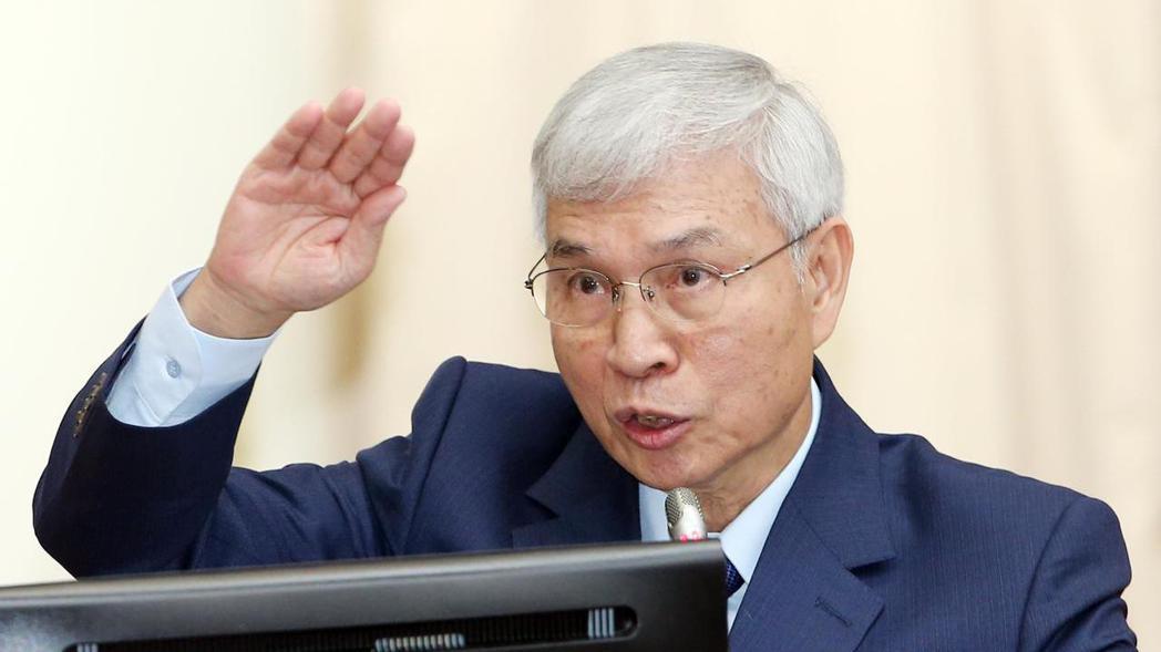 中央銀行總裁楊金龍。 記者杜建重/攝影