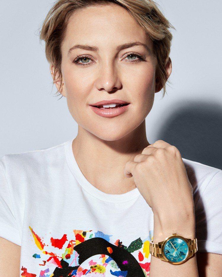 女星凱特哈德森演繹Watch Hunger Stop慈善活動,所推出的特別款Ru...