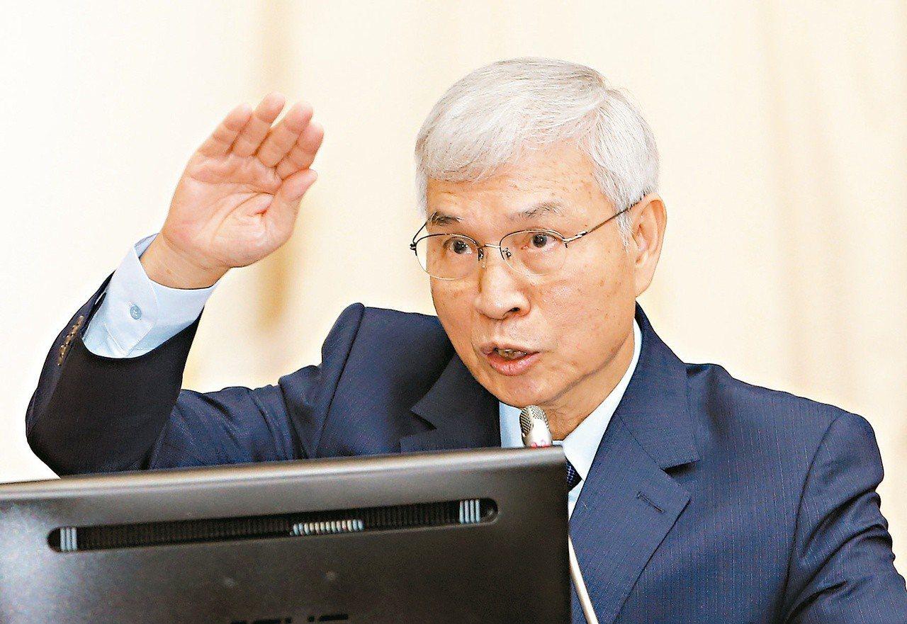 中央銀行總裁楊金龍。 聯合報系資料照/記者杜建重攝影