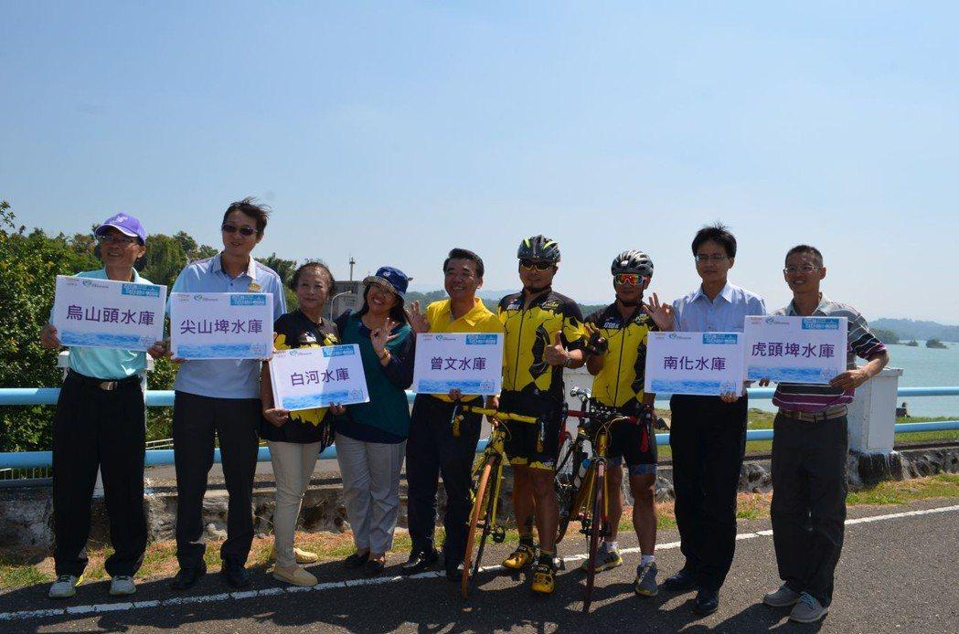 西拉雅水庫騎跡自行車BRM挑戰賽將從烏山頭水庫啟程,近山區有大小水庫坐落其間。 ...