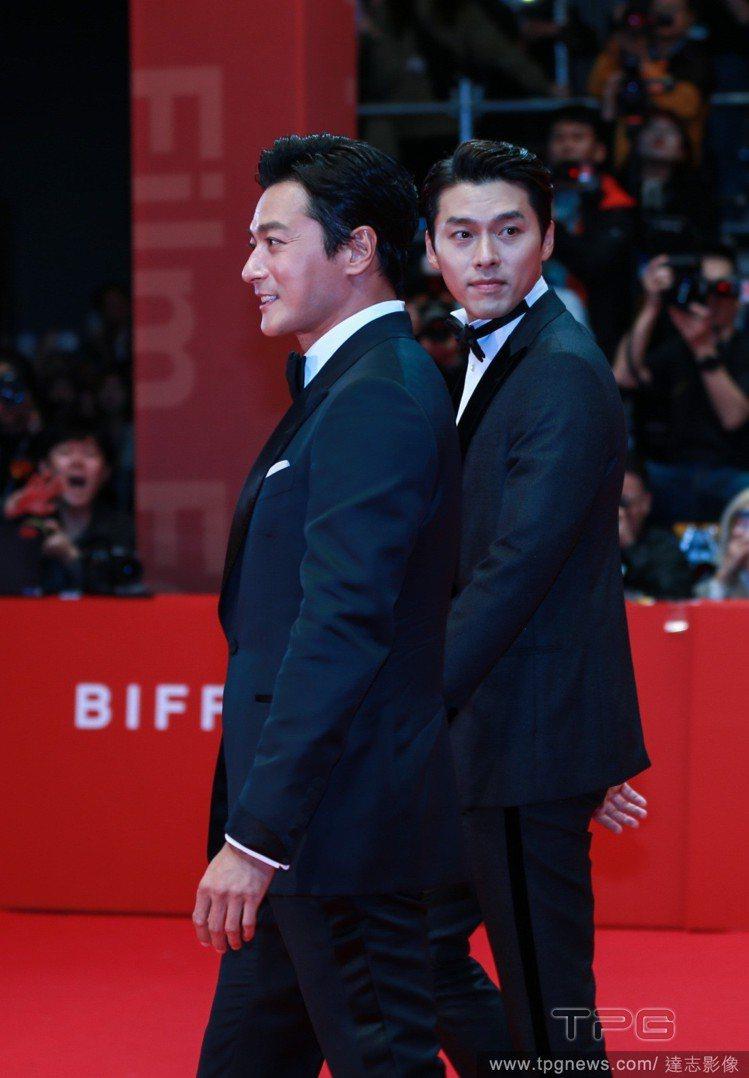 張東健、玄彬(右)。圖/達志影像