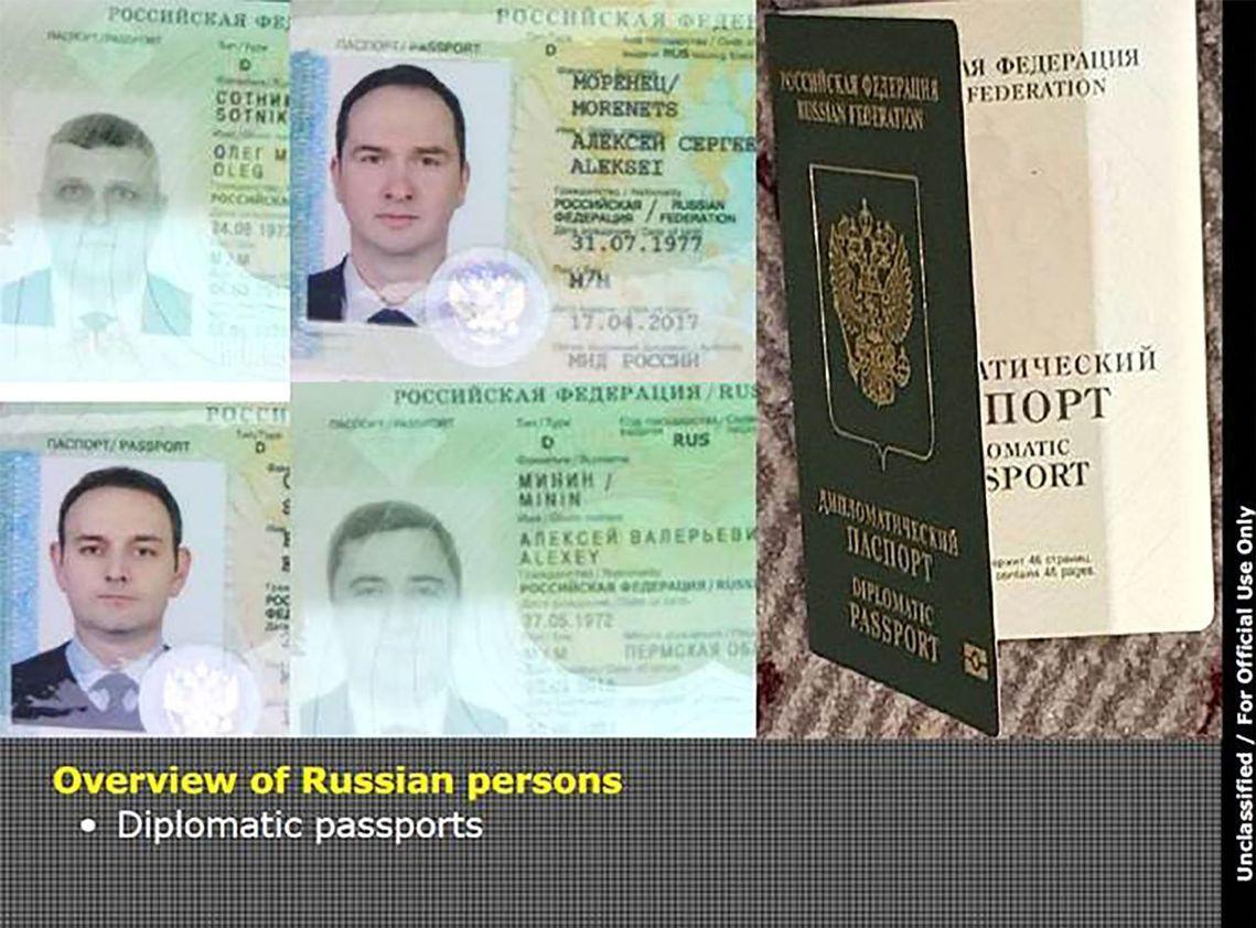 荷蘭情報部門表示,這4名俄羅斯人之中有2位是IT專業人士、另外2人則是任務支援,...