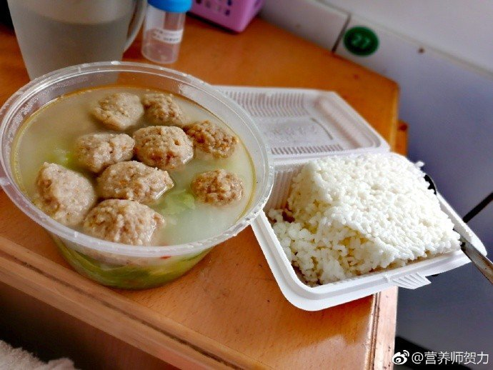 營養師PO出術後的飲食。圖取自微博