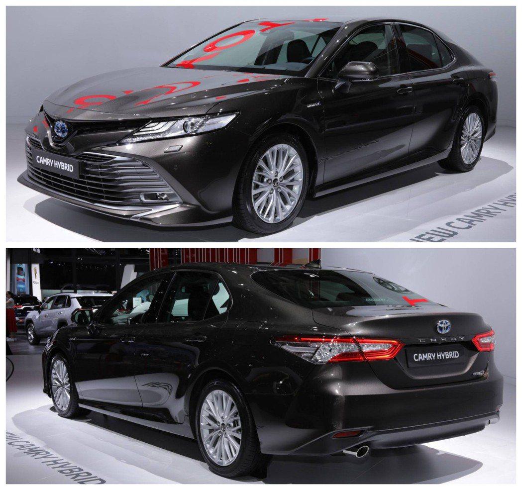 歐規Toyota Camry Hybrid。 摘自Motor 1